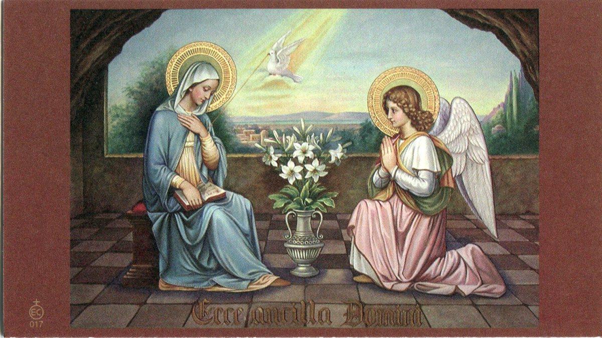 Maria custodisce l'inizio della storia della salvezza